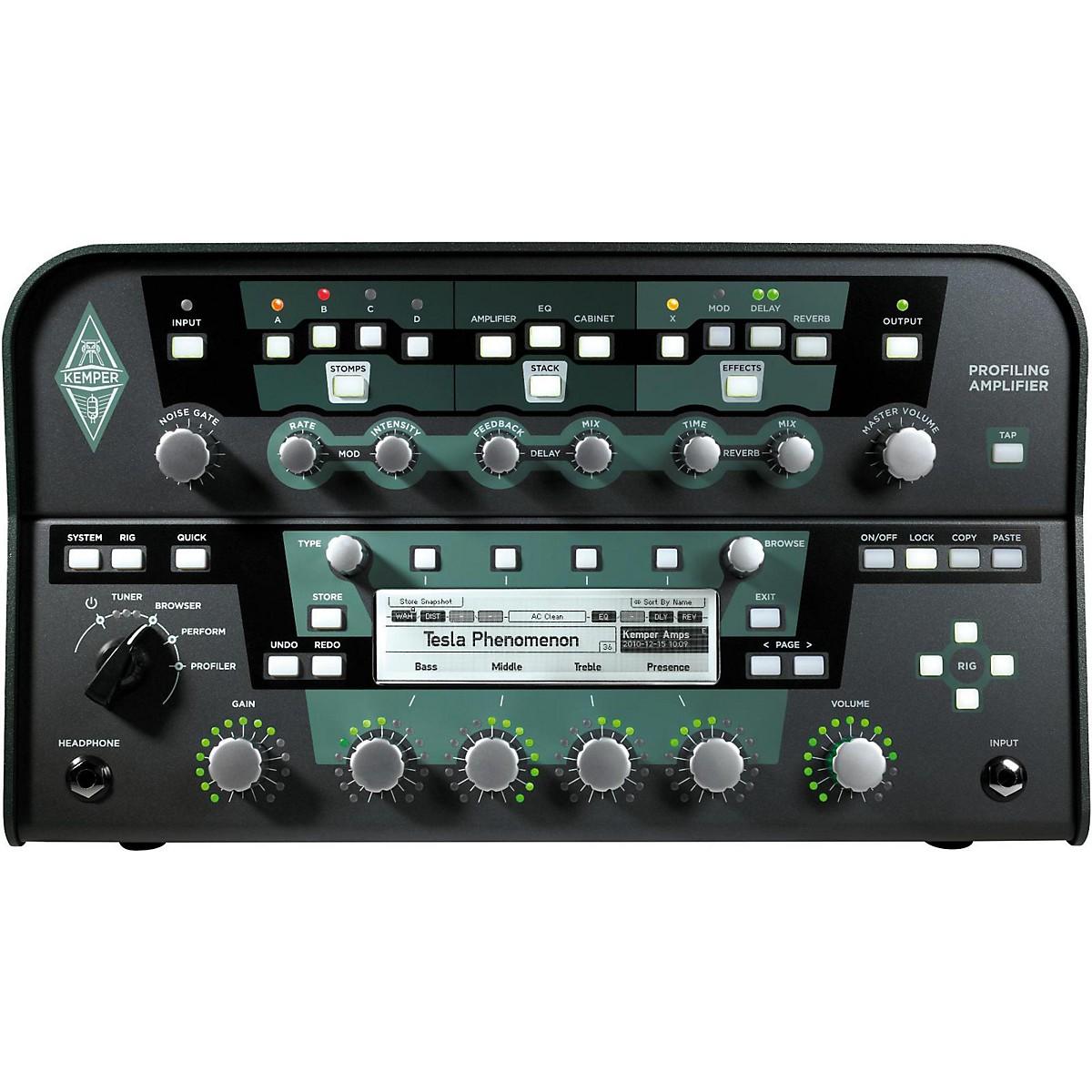 Kemper Profiler PowerHead 600W Class-D Profiling Guitar Amp Head