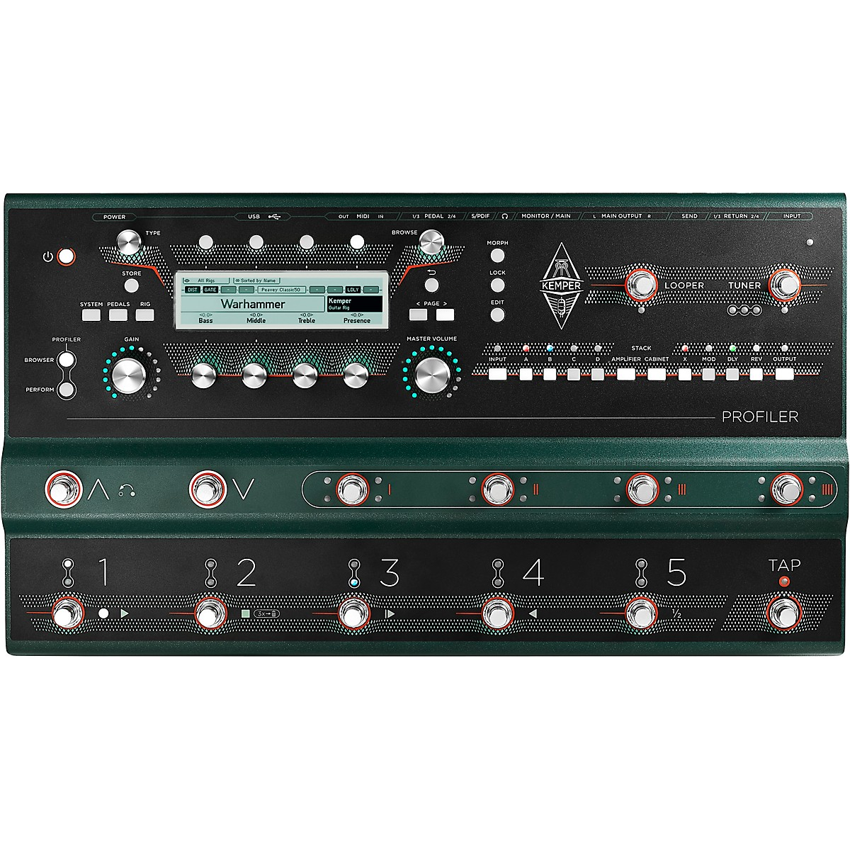 Kemper Profiler Stage Amp and Multi-Effects Processor