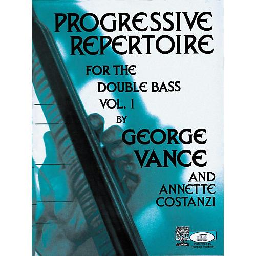 Carl Fischer Progressive Repertoire For The Double Bass Vol. One