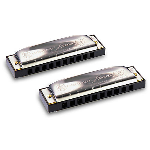 Hohner Progressive Series 560 Special 20 Harmonica (2-Pack)