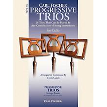 Carl Fischer Progressive Trios for Strings - Cello Book