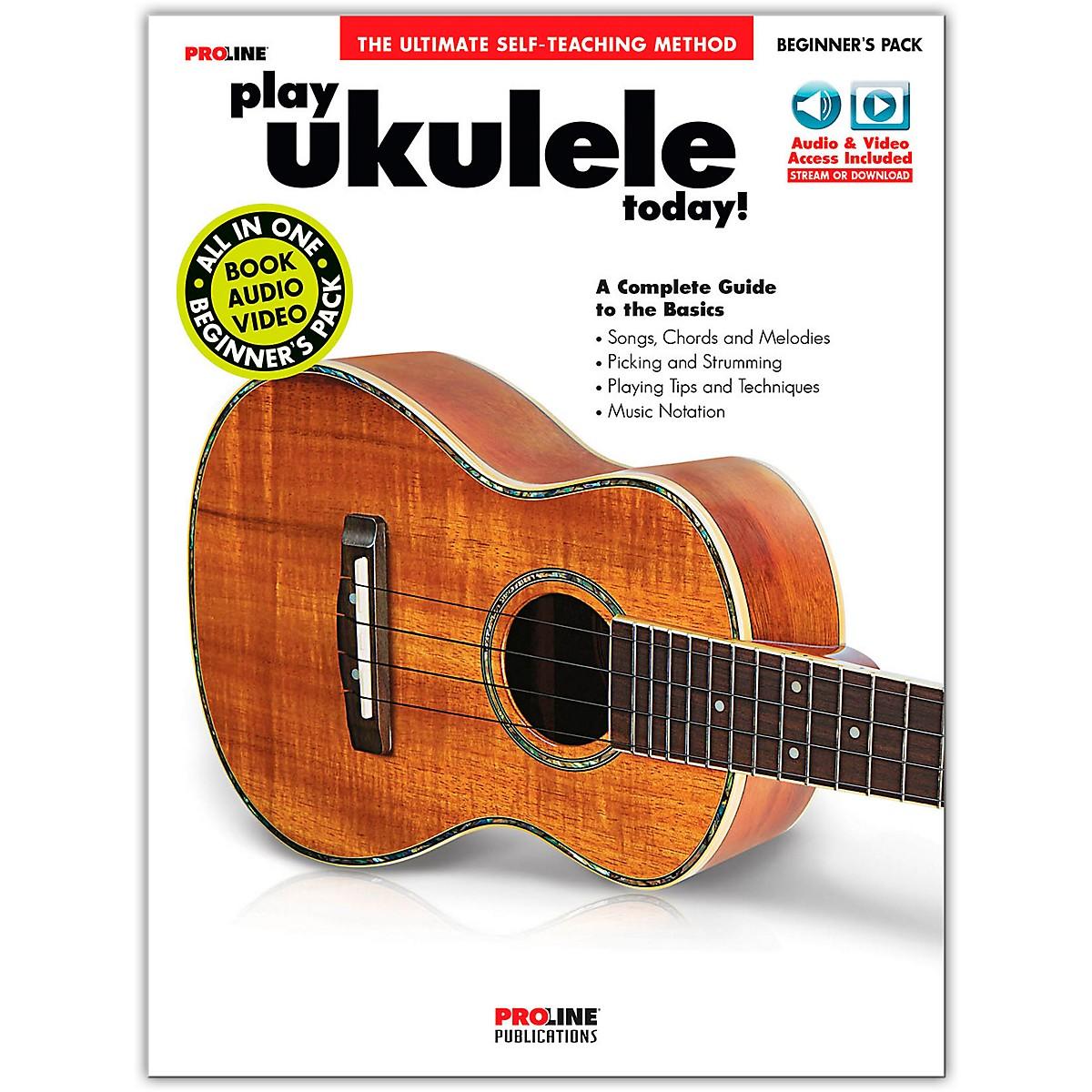 Proline Proline Play Ukulele Today Beginner's Pack Book/Audio & Video Online
