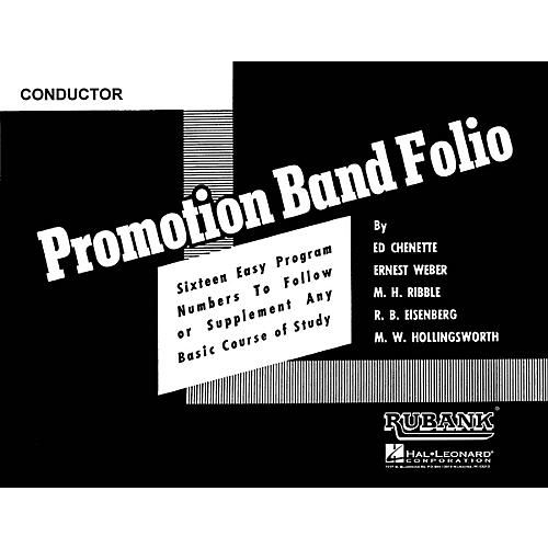 Rubank Publications Promotion Band Folio (1st Alto Saxophone) Concert Band Level 2-3 Composed by Various