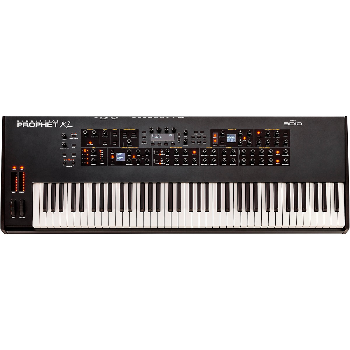 Sequential Prophet XL Hybrid Synthesizer Samples + Synthesis