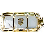 Providence Series Snare Drum with Brass Hardware 14 x 6 in. Calcutta White