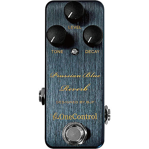 One Control Prussian Blue Reverb Effects Pedal
