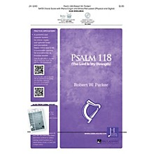 Jubal House Publications Psalm 118 SATB composed by Robert Parker