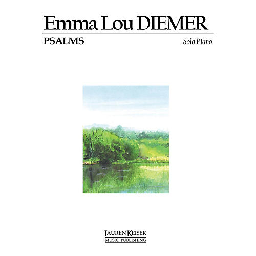 Lauren Keiser Music Publishing Psalms for Piano LKM Music Series