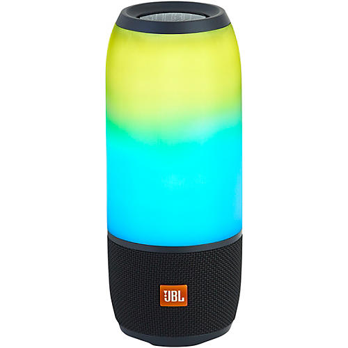 JBL Pulse 3 Portable Speaker with Bluetooth, Built-in Battery, Mic and Built-in Light Show