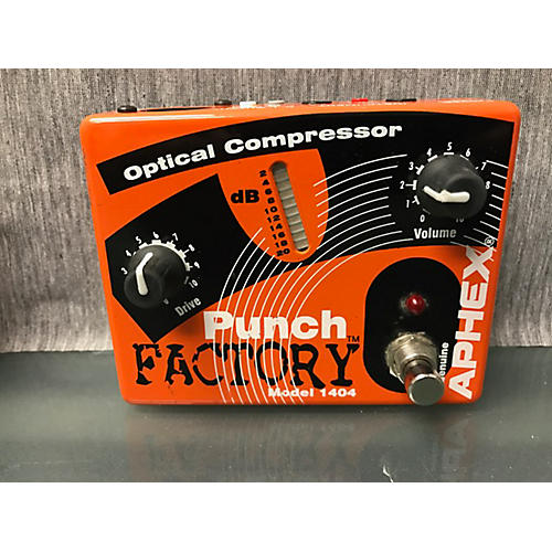 Aphex Punch Factory Optical Compressor Effect Pedal