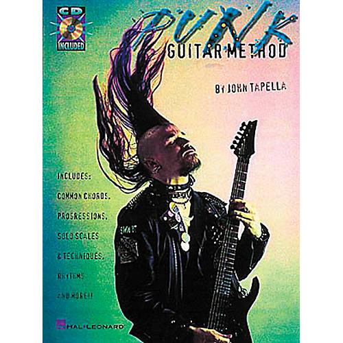 Hal Leonard Punk Guitar Method Book with CD