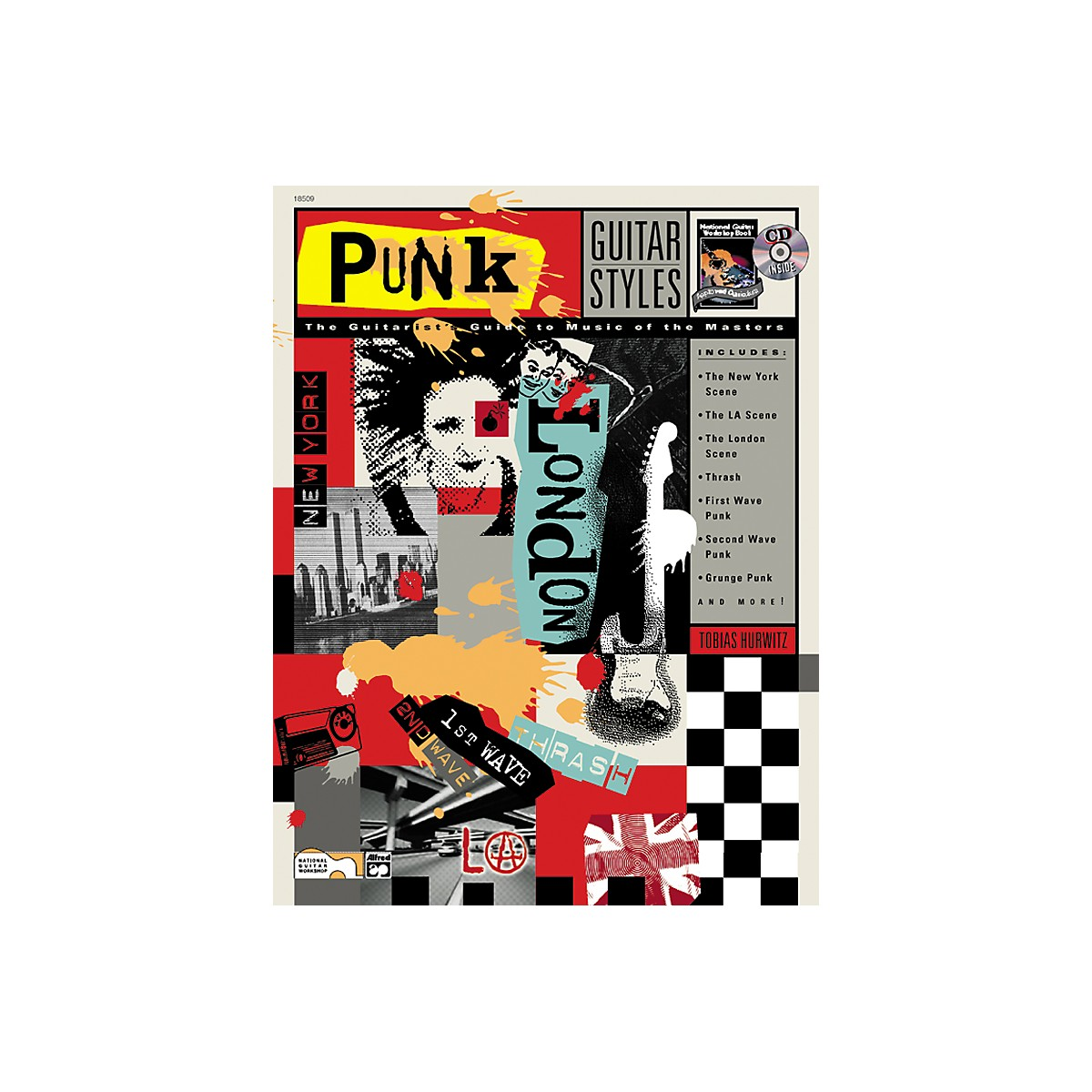 Alfred Punk Guitar Styles (Book/CD)