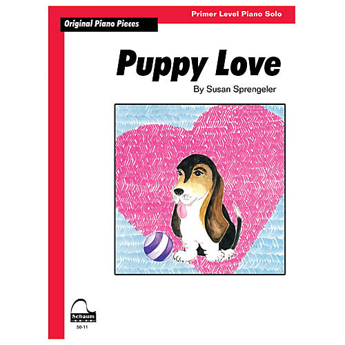 SCHAUM Puppy Love Educational Piano Series Softcover