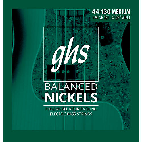 GHS Pure Nickel Roundwound Med 44-130