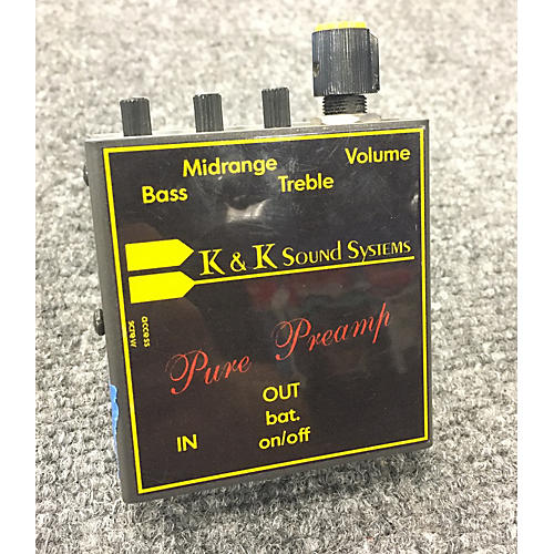 K&K Pure Preamp Effect Pedal