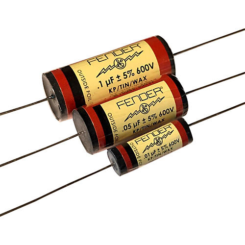 Fender Pure Vintage RED Amplifier Capacitors