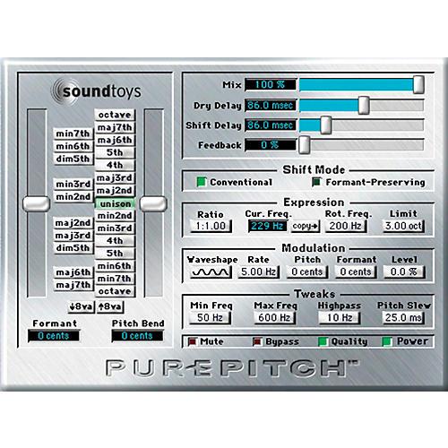 Soundtoys PurePitch TDM V4