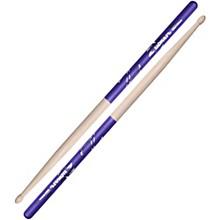 Purple DIP Drum Sticks 5B Wood