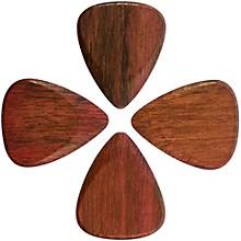 Timber Tones Purple Heart Guitar Picks, 4-Pack