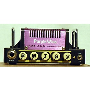 Pre-owned Hotone Effects Purple Wind Guitar Mini Stack Battery Powered Amp by Hotone Effects