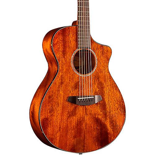 Breedlove Pursuit Concert Cutaway CE Mahogany Acoustic-Electric Guitar