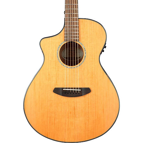 Breedlove Pursuit Concert Left-Handed Acoustic-Electric Guitar