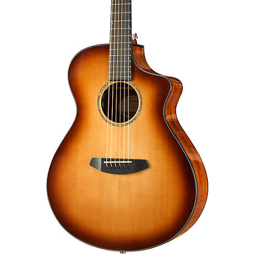 Breedlove Pursuit Concert Sitka-Koa Acoustic-Electric Guitar With Gig Bag