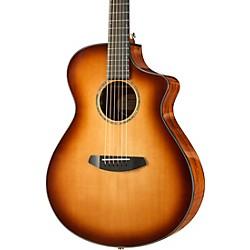 Breedlove Pursuit Concert Sitka-Koa Acoustic-Electric Guitar With Gig Bag Whiskey Burst