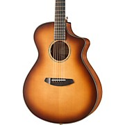 Pursuit Concert Sitka-Mahogany Acoustic-Electric Guitar With Gig Bag Whiskey Burst