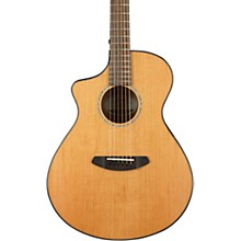 Breedlove Pursuit Concert with Red Cedar Top Left-Handed Acoustic-Electric Guitar