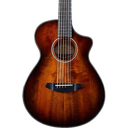 Breedlove Pursuit Exotic Companion CE Myrtlewood Acoustic-Electric Guitar