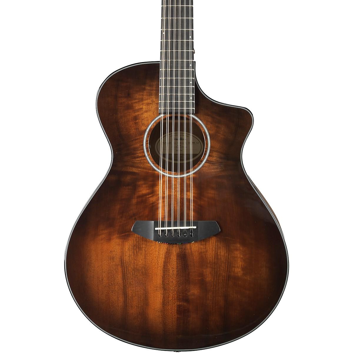 Breedlove Pursuit Exotic Concert Myrtlewood - Myrtlewood 12-String Acoustic-Electric Guitar