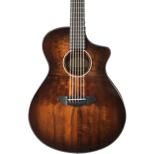 Breedlove Pursuit Exotic Concert Myrtlewood - Myrtlewood 12-String Acoustic-Electric Guitar