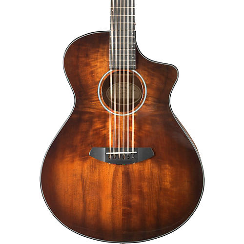 Breedlove Pursuit Exotic Concert Myrtlewood 12-String Acoustic-Electric Guitar