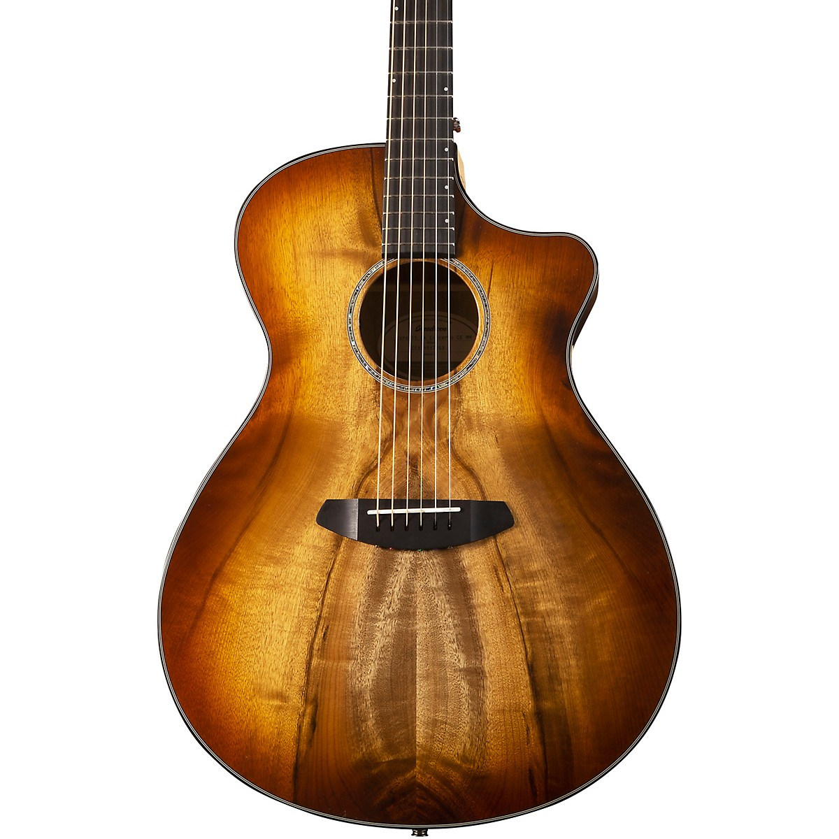 Breedlove Pursuit Exotic Concerto CE Myrtlewood-Myrtlewood Acoustic-Electric Guitar