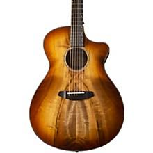 Pursuit Exotic Concerto CE Myrtlewood-Myrtlewood Acoustic-Electric Guitar Level 2 Cinnamon Burst 190839888198