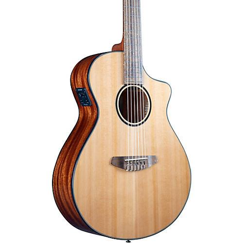 Breedlove Pursuit Exotic S CE Cedar-Myrtle Concert Acoustic-Electric Classical Guitar