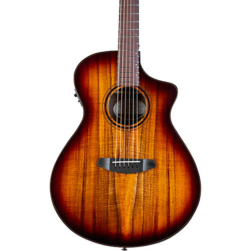 Breedlove Pursuit Exotic S CE Koa-Koa Concert Acoustic-Electric Guitar