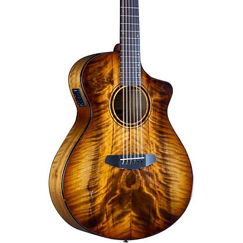 Breedlove Pursuit Exotic S CE Myrtlewood 12-String Concert Acoustic-Electric Guitar