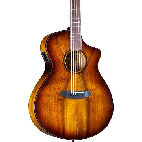 Breedlove Pursuit Exotic S CE Myrtlewood Companion Acoustic-Electric Guitar