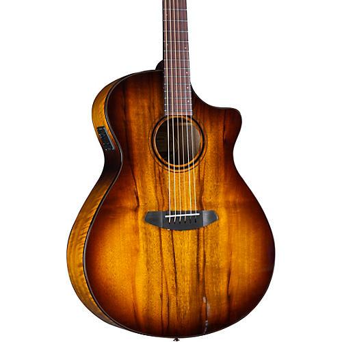 Breedlove Pursuit Exotic S CE Myrtlewood Concerto Acoustic-Electric Guitar