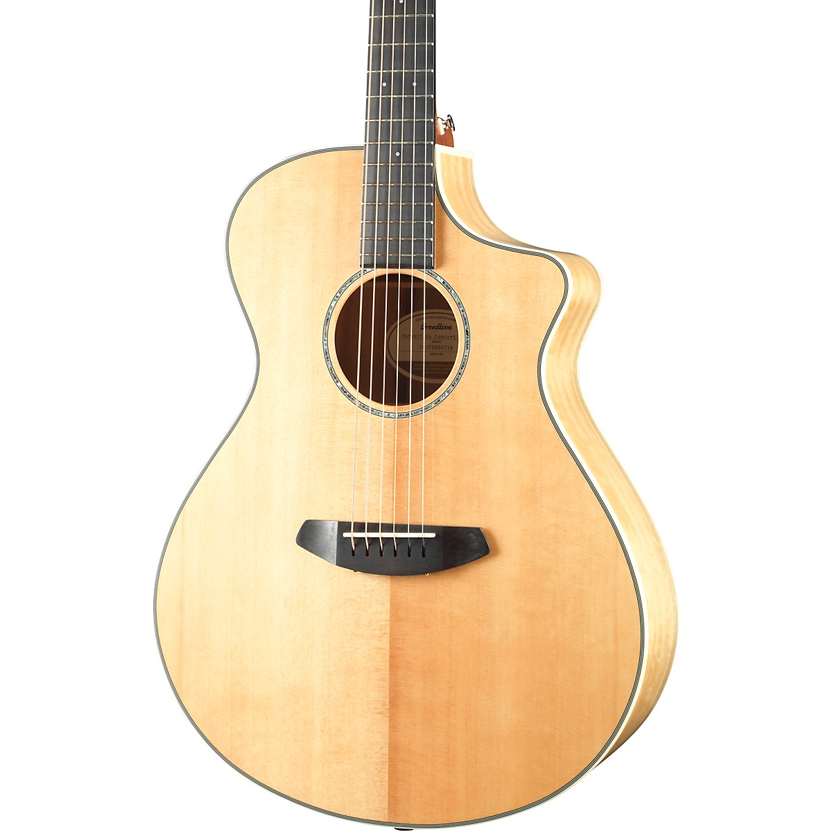 Breedlove Pursuit Exotic Sitka-Myrtlewood Concert Cutaway CE Acoustic-Electric Guitar
