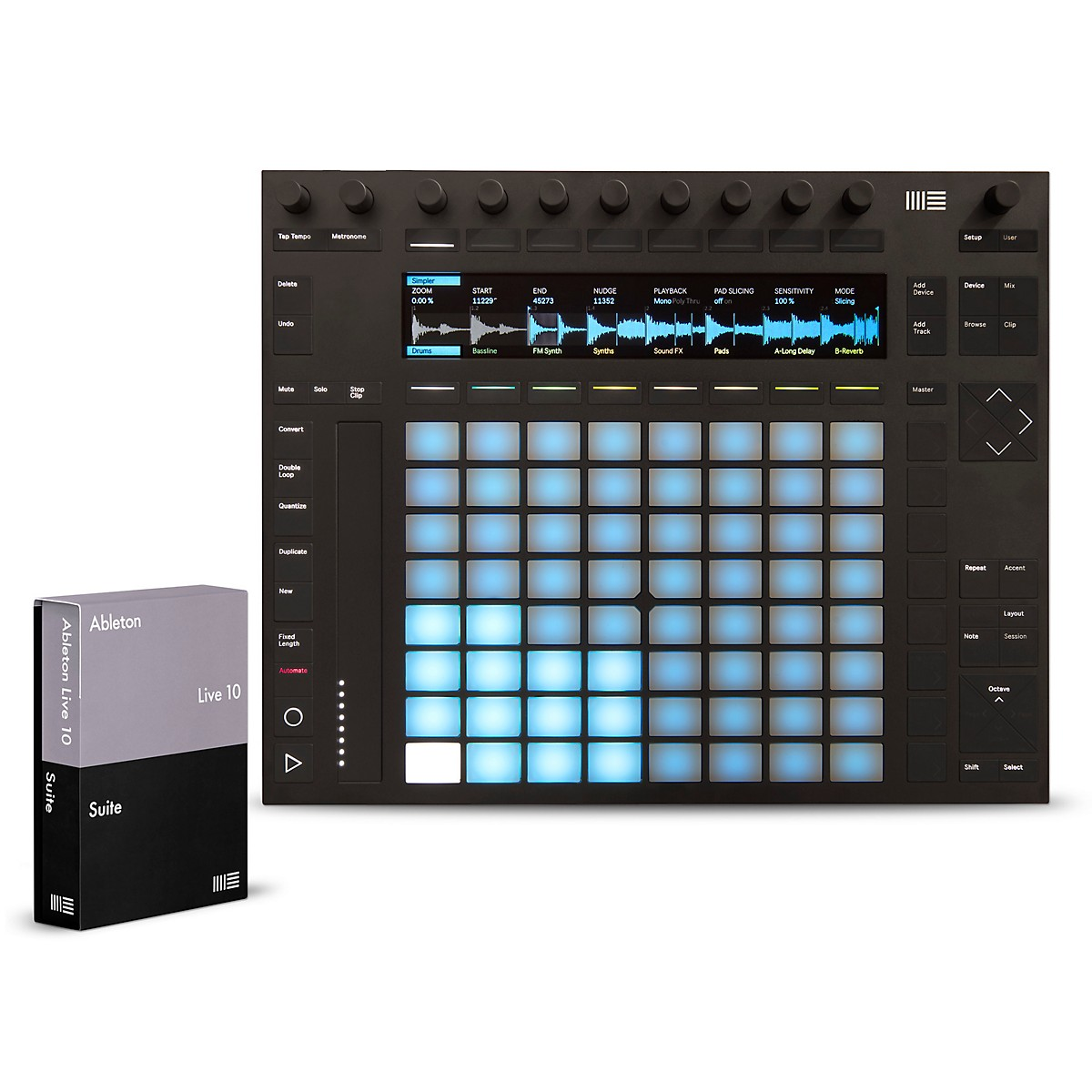 Ableton Push 2 Software Controller with Live 10 Suite