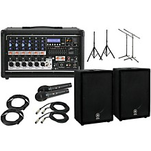 """Peavey Pvi6500 with A12 12"""" Speaker PA Package"""