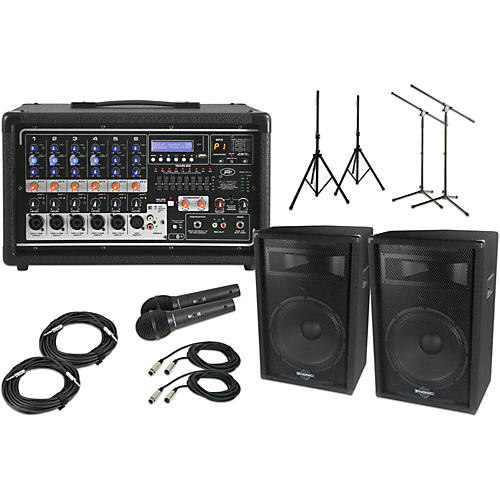 Peavey Pvi6500 with S715 15