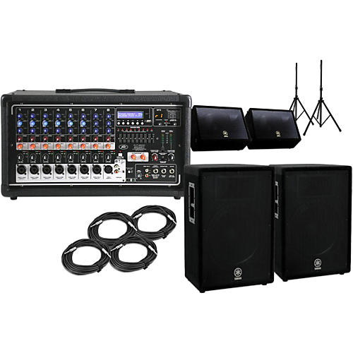 Peavey Pvi8500 A15 15 Quot Speaker Pa Package With Monitors