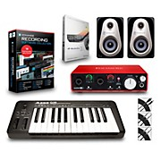 Q25 25-Key MIDI Keyboard Controller Packages Advanced Recording Package