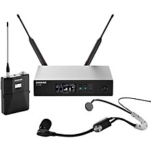 QLX-D Digital Wireless System with SM35 Condenser Headset Microphone Band H50