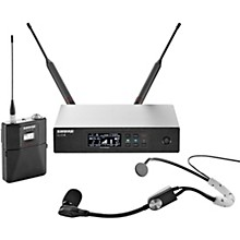 QLX-D Digital Wireless System with SM35 Condenser Headset Microphone Band J50A