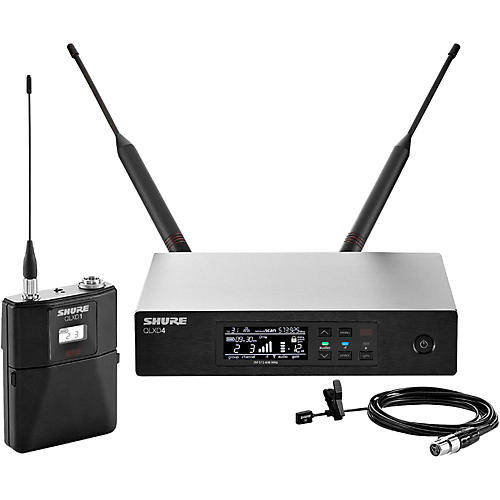 Shure QLX-D Digital Wireless System with WL93 Omnidirectional Lavalier